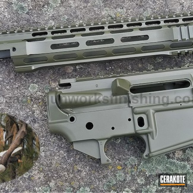 "Thumbnail image for project ""Upper / Lower / Handguard coated in H-232 MagPul O.D. Green"""
