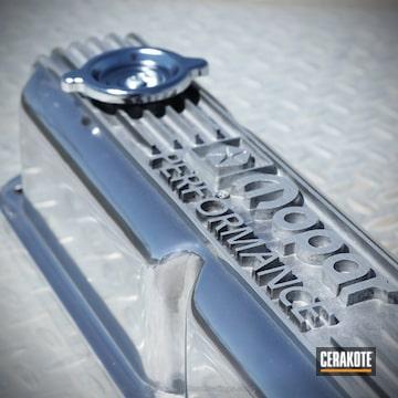 Cerakoted Aluminum Automotive Parts With Cerakote Clear