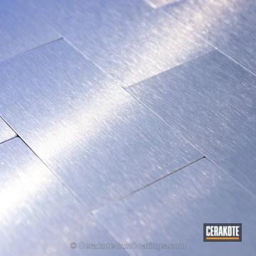 Cerakoted Mc-5100 Cerakote Clear For Aluminum On Back Splash Paneling