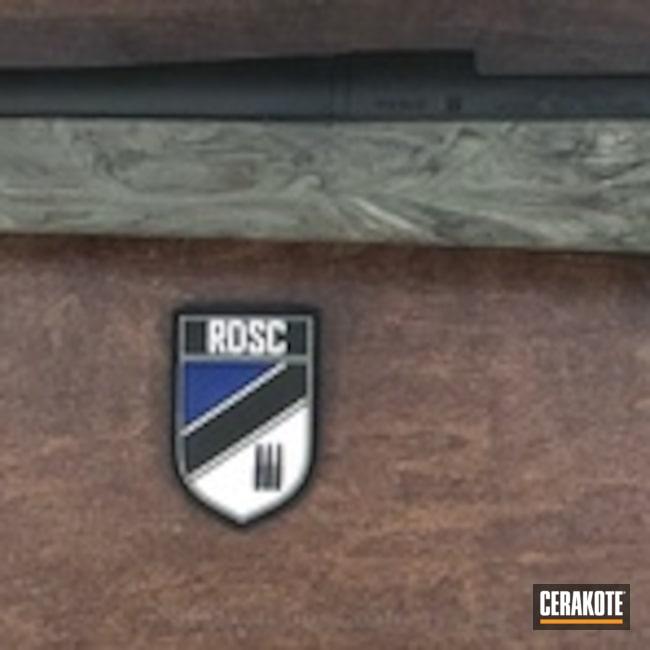 Cerakoted: Bolt Action Rifle,Graphite Black H-146,Remington,Rifle Barrel,Remington 700