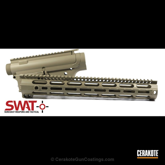 "Thumbnail image for project ""Palmetto State Armory Upper / Lower / Handguard Set coated in H-203 McMillian Tan"""