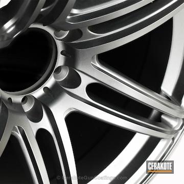Cerakoted Clear Coated Aluminum Wheel