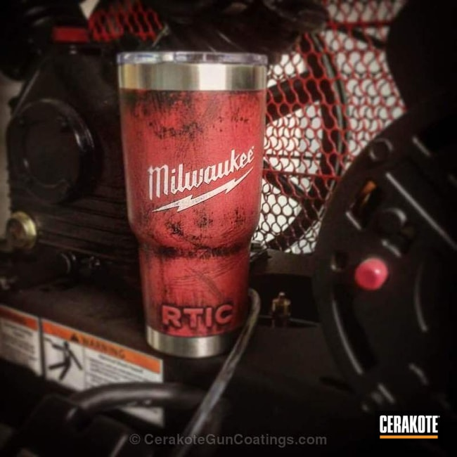 "Thumbnail image for project ""RTIC Tumbler in a Custom Cerakote Themed Finish"""