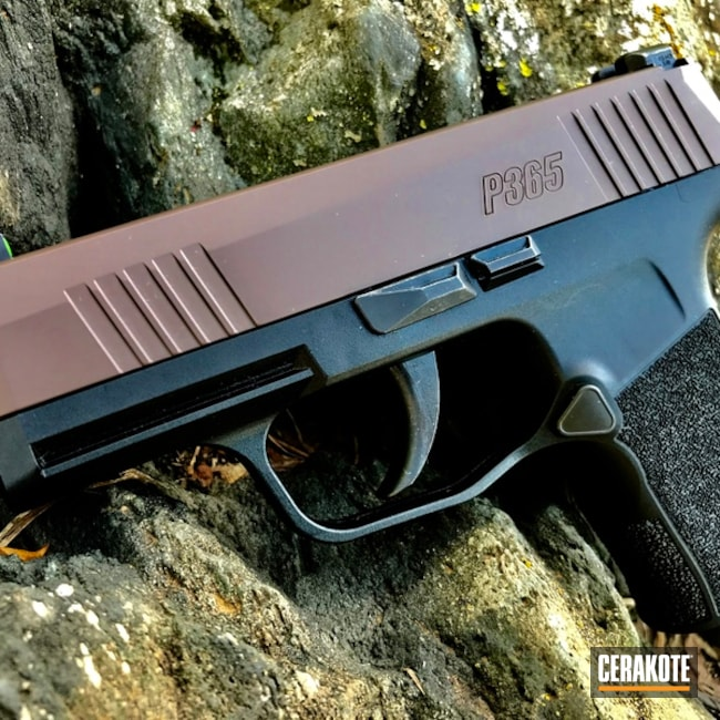 Sig Sauer P365 in H-258 Chocolate Brown