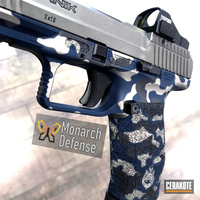 "Thumbnail image for project ""Canik Handgun in a Custom Camo Finish"""