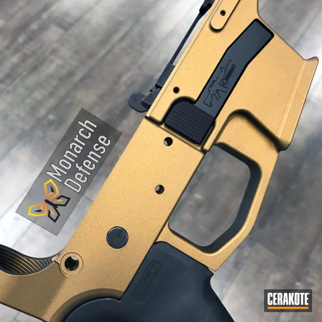 "Thumbnail image for project ""AR-15 Lower Coated in H-148 Burnt Bronze"""