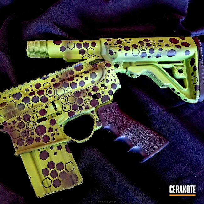 "Thumbnail image for project ""Tactical Rifle coated in a Custom Cerakote Camo Finish"""