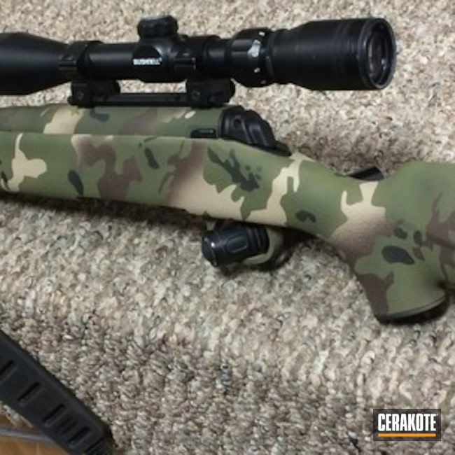 Savage Arms Rifle with Cerakote