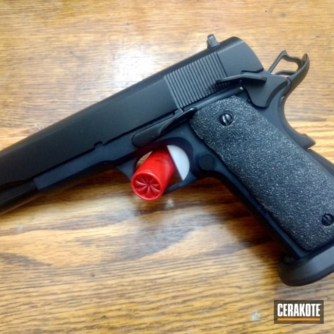 1911 with Graphite Black and MagPul Stealth Grey