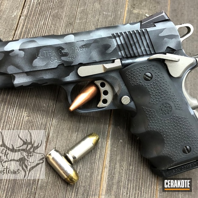"Thumbnail image for project ""1911 With Custom MultiCam Cerakote"""