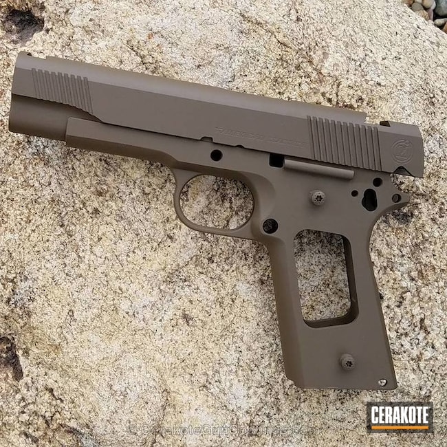 Thumbnail version of the 4th project picture. Metro Arms, 1911, Flat Dark Earth H-265Q