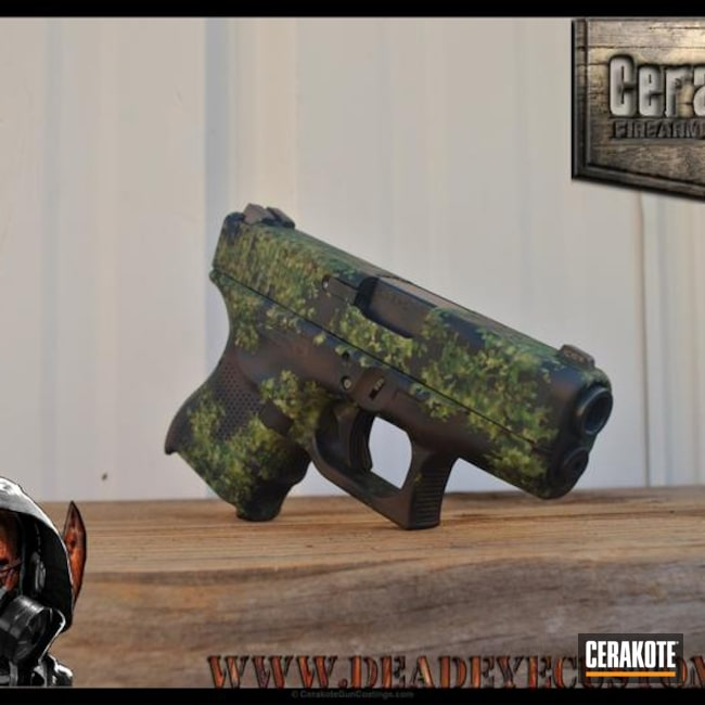 "Thumbnail image for project ""Custom Mixed Cerakote Organic Camo"""
