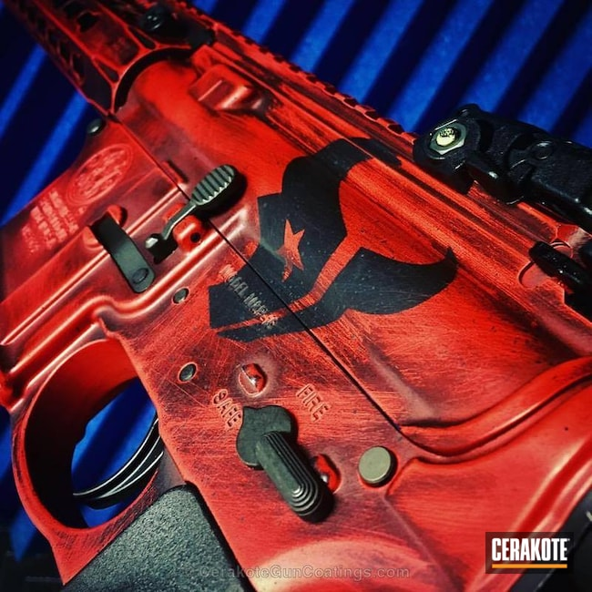 "Thumbnail image for project ""H-216 Smith & Wesson Red and H-146 Graphite Black"""