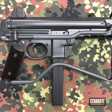 Cerakoted Walther Mpk Submachine Gun In A Custom Cerakote Finish