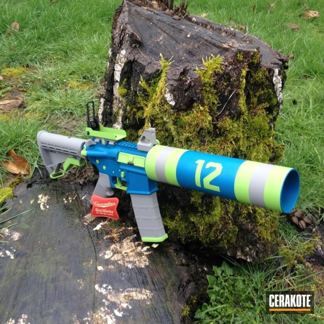 "Thumbnail image for project ""H-168 Zombie Green, H-172 Sea Blue and H-139 Steel Grey"""