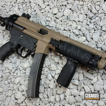 Cerakoted Mp5 Cerakoted In H-265 Flat Dark Earth