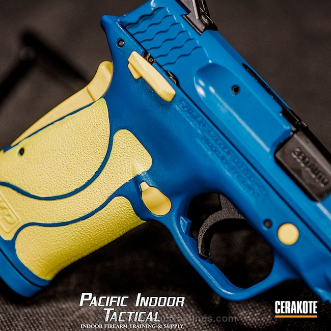 H-144 Corvette Yellow and H-169 Sky Blue