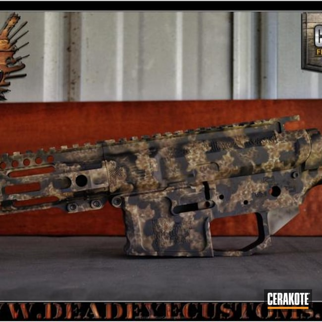 "Thumbnail image for project ""Upper / Lower / Handguard in a Custom Camo Finish"""