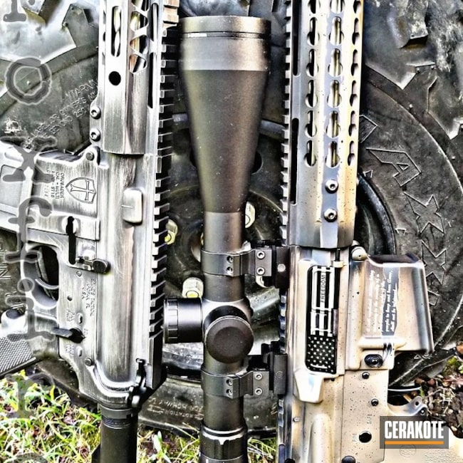 H-146 Graphite Black, H-267 MagPul Flat Dark Earth, H-150 Savage Stainless and H-234 Sniper Grey