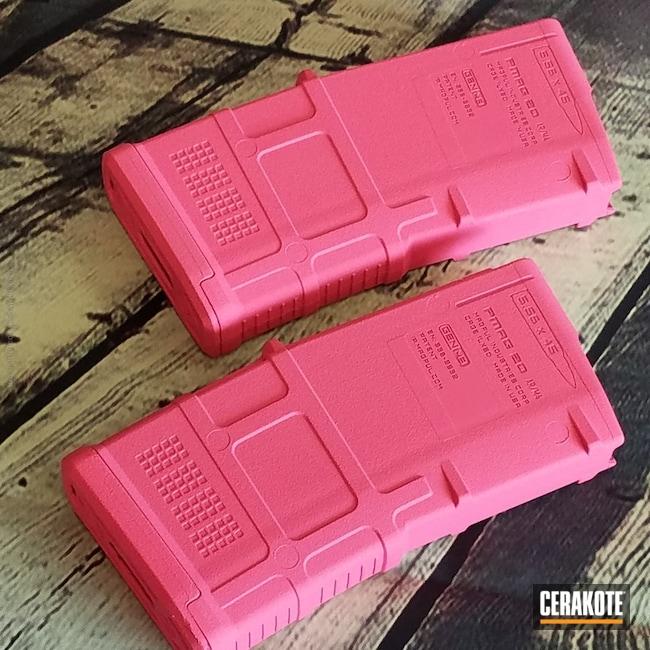 Mobile-friendly version of the 1st project picture. Gun Parts, Magazine, Prison Pink H-141Q
