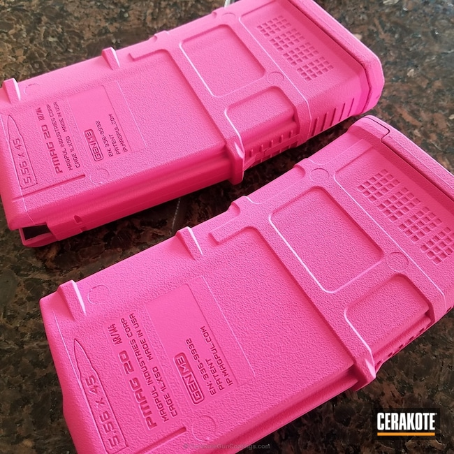 Big version of the 2nd project picture. Gun Parts, Magazine, Prison Pink H-141Q
