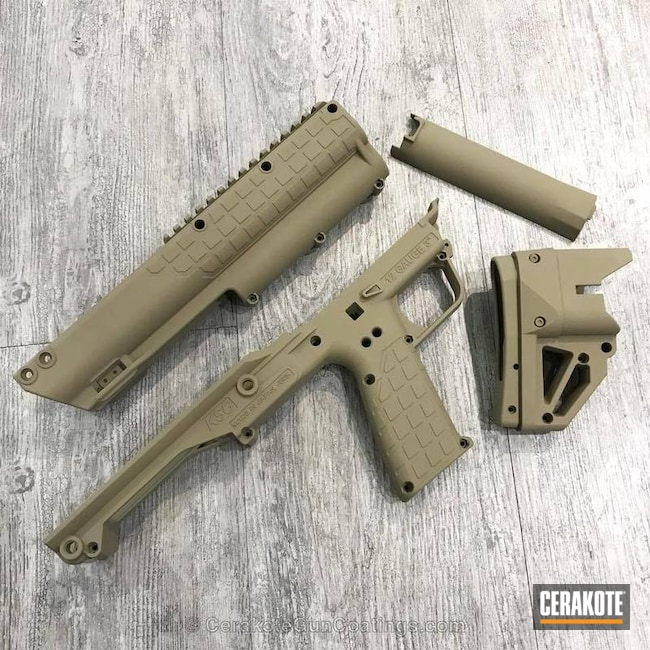 Thumbnail version of the 2nd project picture. Gun Parts, Coyote Tan H-235Q, Solid Tone