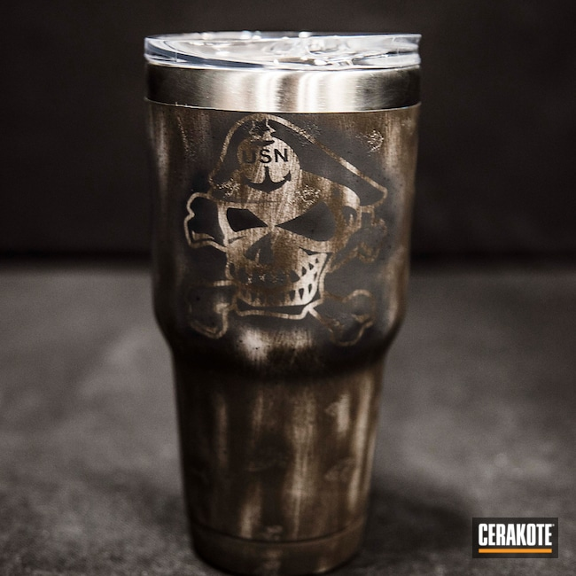 "Thumbnail image for project ""Custom Cup in a Distressed Cerakote Finish"""