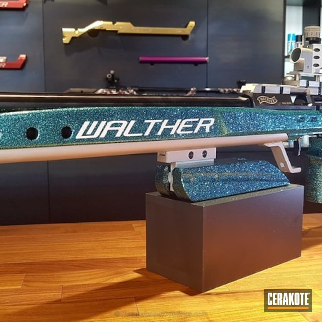 Carl Walther KK500 finished in Clear Coat H-300