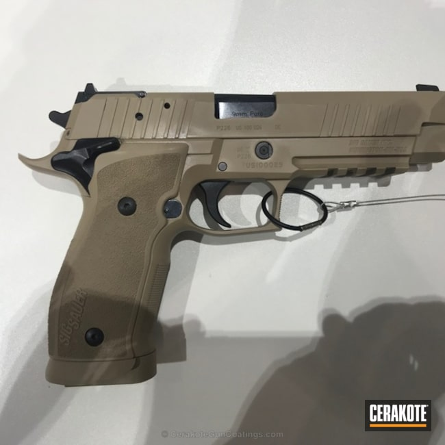 Sig Sauer P226 Handgun in H-265 Flat Dark Earth