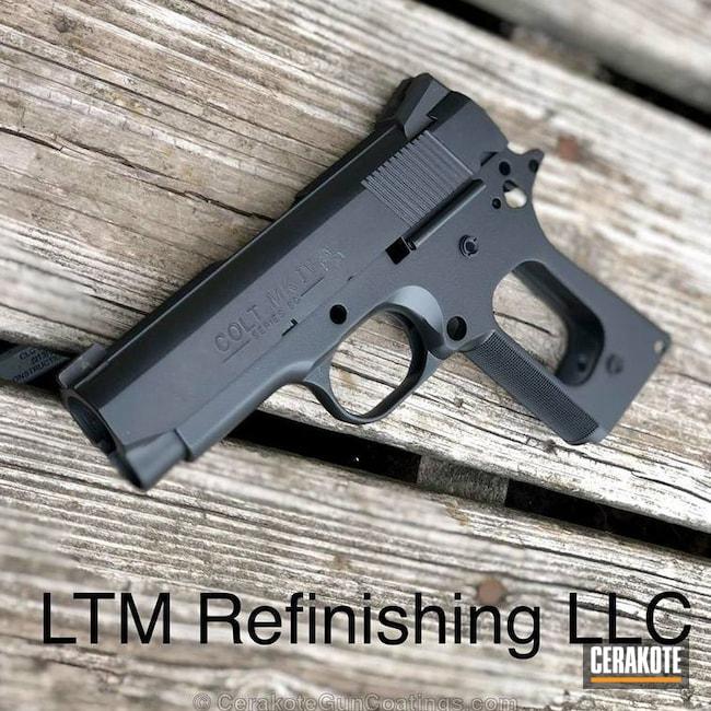 Cerakoted: Gen II Graphite Black HIR-146,Colt,Colt 1911,1911,Handguns