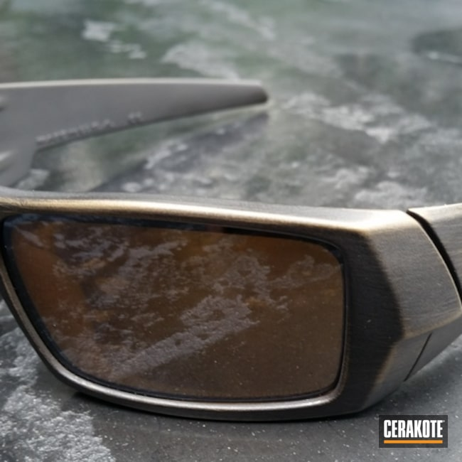 "Thumbnail image for project ""Oakley Sunglasses Cerakoted in H-146 and H-148"""