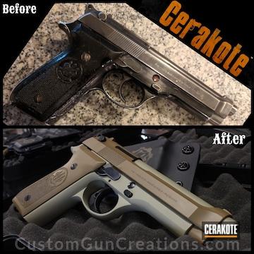 Cerakoted Beretta Handgun Cerakoted In H-247 And H-7504m
