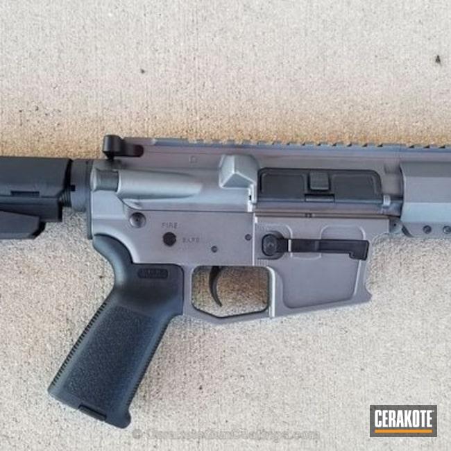 Cerakoted: AR Pistol,.357 sSig,Tungsten H-237,Warrior Arms,Custom Pistol