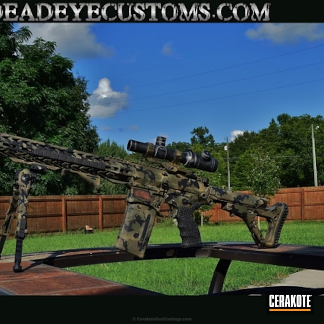 "Thumbnail image for project ""Tactical Rifle in a Custom MultiCam Finish"""