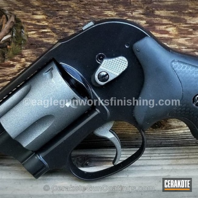 "Thumbnail image for project ""Smith & Wesson Revolver Restoration Refinished in Cerakote H-146"""