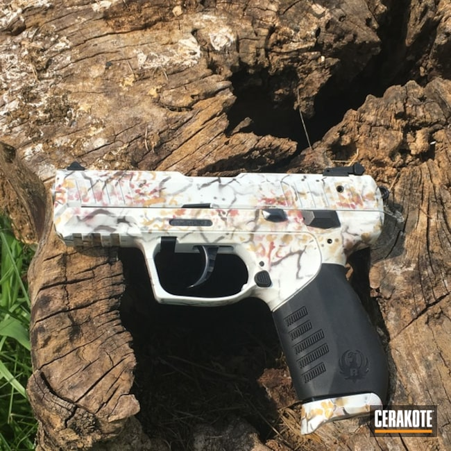 Ruger Handgun finished in a Custom Cerakote Finish