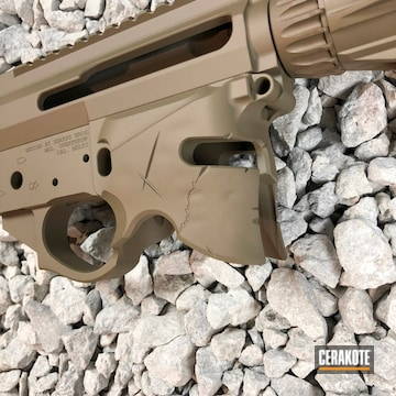 Cerakoted Upper / Lower / Handguard In H-267 And H-294