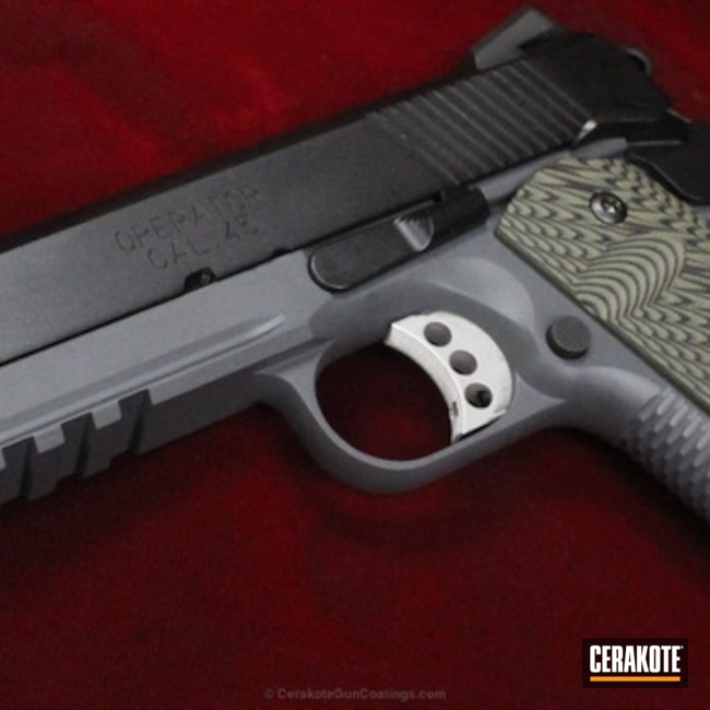 H-146 and H-234 Cerakote finish on this Springfield 1911