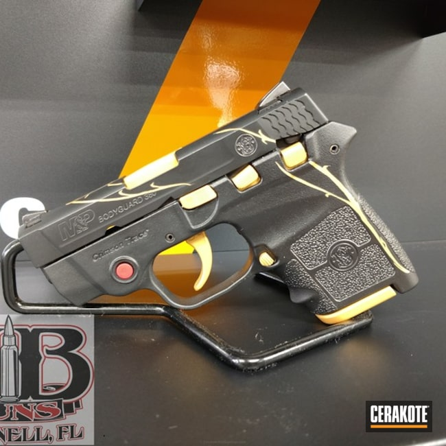 "Thumbnail image for project ""Smith & Wesson Handgun Cerakoted in H-146 and H-122"""