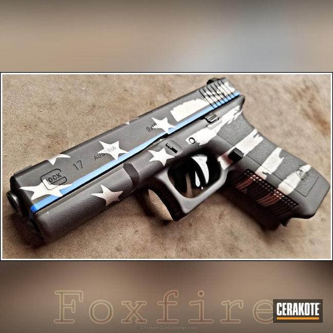 "Thumbnail image for project ""Glock 17 Handgun Coated in H-146, H-150 and H-171"""