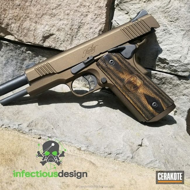 "Thumbnail image for project ""Kimber Handgun Cerakoted in H-148, H-112 and H-294"""