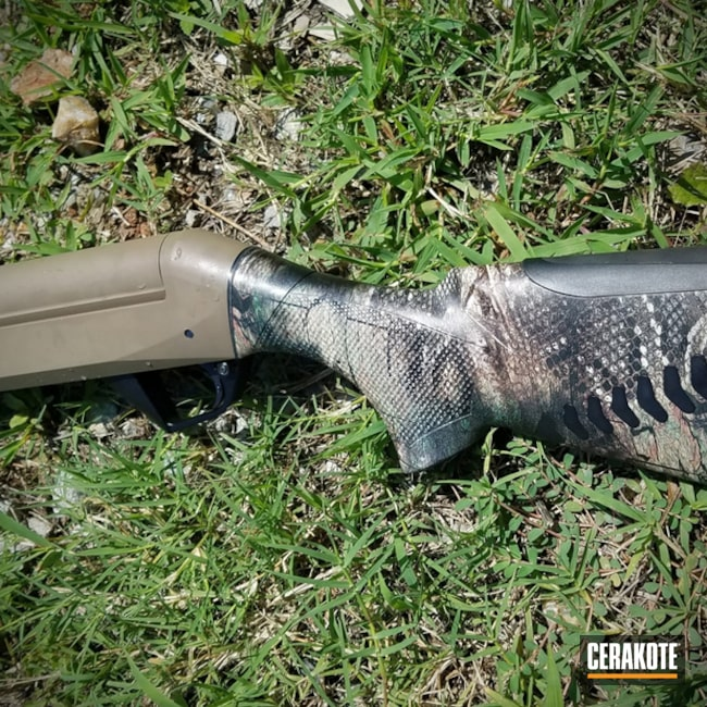 Benelli Shotgun with MagPul FDE