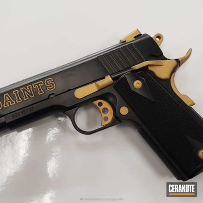 Saints Themed 1911