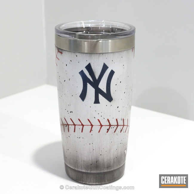 New York Yankees Themed Tumbler