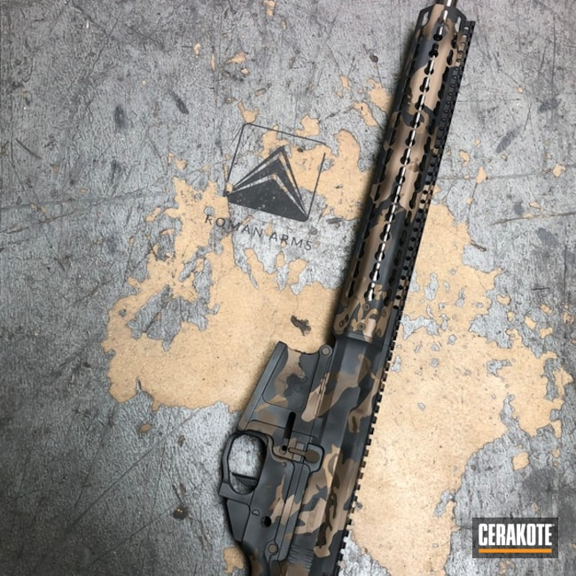 Mega Arms AR-10 Rifle Build in a MultiCam Cerakote Finish