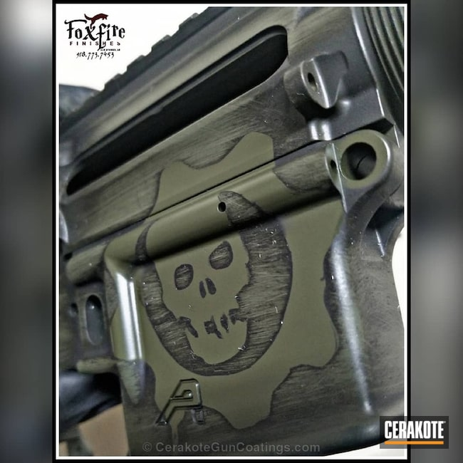 "Thumbnail image for project ""Aero Precision Rifle coated in a Distressed Cerakote Finish"""