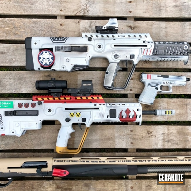 Cerakoted Star Wars Themed Gun Collection