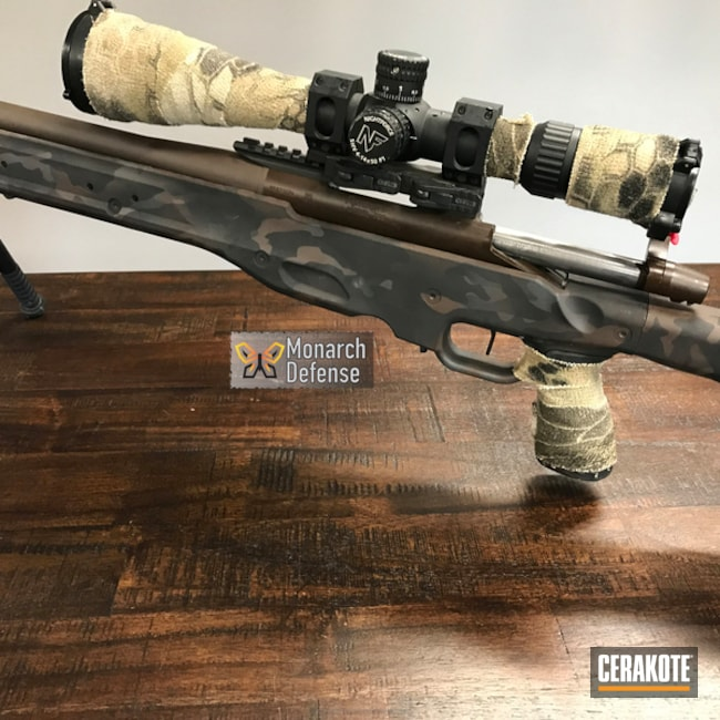 "Thumbnail image for project ""Accuracy Internal Bolt Action Rifle done in a Cerakote MultiCam Finish"""