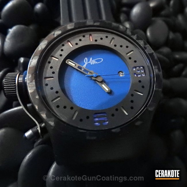 Cerakoted: Kognition Watch,NRA Blue H-171,More Than Guns,Kognition,Watches