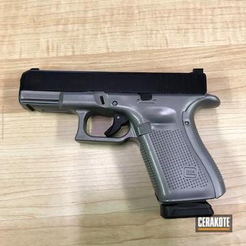 Cerakoted Two Toned Glock 19